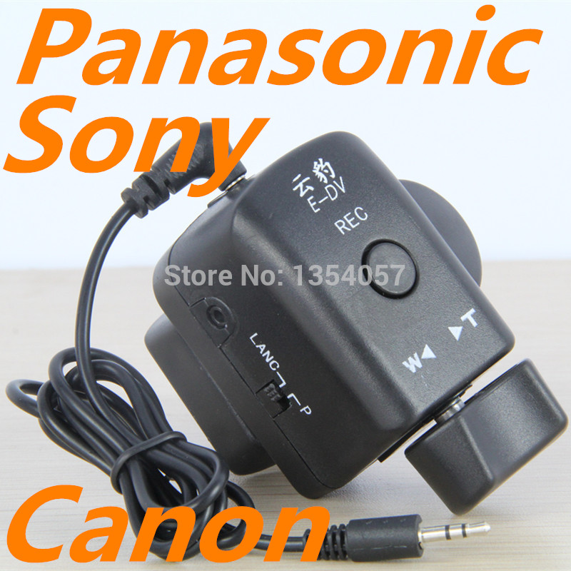 Free Shipping Zoom Control For Sony LANC ZOOM REMOTE Controller недорго, оригинальная цена