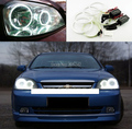 Для Chevrolet Lacetti Optra Nubira 2002-2008 Отлично Ultrabright angel eyes освещения CCFL Angel Eyes kit Halo Кольцо