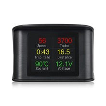 Head-up Display For Any Auto Car HUD LED Heads Up Display OBD Scanner OBD2 Digital Speedometer Detector цена и фото
