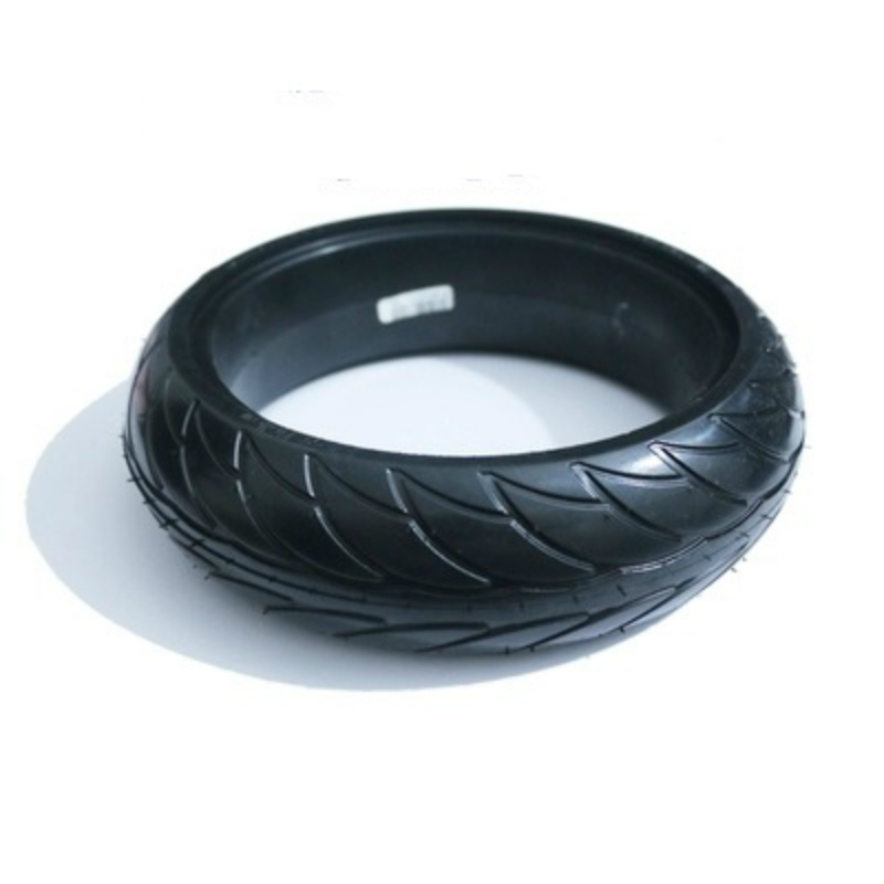 Front Scooter Solid Tire Tyre Wheel for Xiaomi Ninebot ES1 ES2 Electric Scooter Kickscooter Skateboard 8 inch Non-Pneumatic Tire