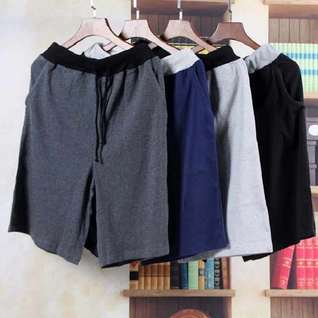 Для мужчин Мужская Хлопковая пижама Штаны дома мужской дом нижнее белье  Модные Шорты летняя Ночная рубашка 669a36c48eeb7