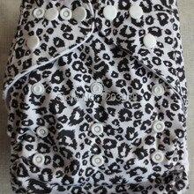 Детская сумка-карман, 5 шт., моющаяся регулируемая одежда, подгузник с хлопковыми вставками из 2 пеньков
