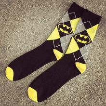 21c69fd8438 HOT Sale Unisex Super Hero Superman Batman Cosplay Knee High Sock Soccer Cosplay  Socks For New