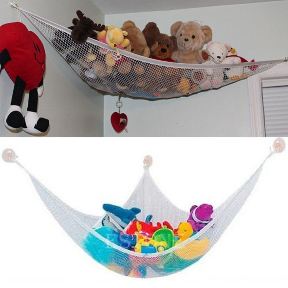 Toy Hammock Hanging Storage Net Stuffed Animals Toys Kids Organizer-in Storage Bags from Home u0026 Garden on Aliexpress.com | Alibaba Group  sc 1 st  AliExpress.com & Toy Hammock Hanging Storage Net Stuffed Animals Toys Kids Organizer ...