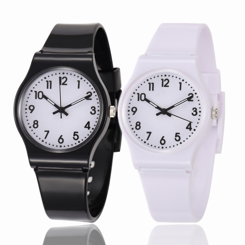 Children Multi Colors Rubber Band Watches Kids Quartz Wristwatch Child Girls Boy clock Relogio Infantil Reloj Montre Enfant children cartoon kids watches boys girls mouse clock 3d rubber strap quartz watch clock hour relojes relogio infantil bayan saat