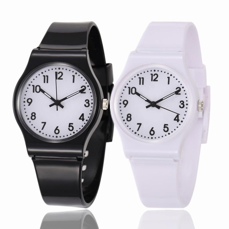 Children Multi Colors Rubber Band Watches Kids Quartz Wristwatch Child Girls Boy Clock Relogio Infantil Reloj Montre Enfant