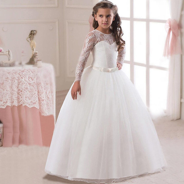 Kids wedding dresses pictures