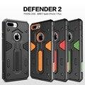 Caso de la cubierta de nillkin para apple iphone 7 plus cubierta protectora para iphone 7 plus phone cases para apple iphone 7 plus estuche protector