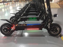 2 wheel moped electric hoverboard skateboard scooter with seat 2000W motor 26AH 48V