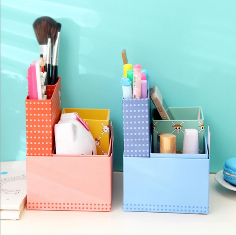 Freies Verschiffen Hello Kitty Papier Stationery Verfassungs Kosmetik  Schreibtisch Veranstalter Storage Box DIY In Home Office Storage From Home  U0026 Garden On ...