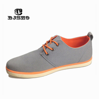 CBJSHO New Arrival Spring Summer Comfortable Casual Shoes Mens Canvas Shoes For Men Lace Up Brand