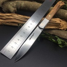 TONIFE HKT3103 Gent-H Small Fixed Knife Home Use Kitchen Fruit Knife Survival Hunting Pocket Rescue EDC Diving Cutting tools