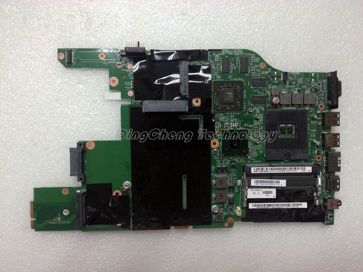 Original laptop Motherboard For Lenovo E520 FRU 04W0726 PGA989 DDR3 HM65 HD6630M 2GB non-integrated graphics card 100% tested