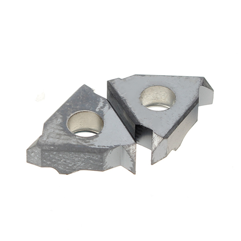 2pcs Indexable Carbide Threading Lathe Inserts Internal 11 IR A55 / 11NR A55 For Turning Tool Holders
