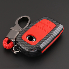 Car Styling Carbon fiber silicone Key Cover Case For Toyota Chr C-hr RAV4 Land Cruiser 200 Avensis Auris Corolla Prius Keyring for toyota camry corolla avalon rav4 land cruiser keychain 1pcs carbon fiber silicone car key cover fob case cover