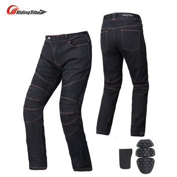 2019 Riding Tribe motorcycle pants with knee hip pad ,polyester Oxford Moto motocross trousers body armor S M L XL XXL XXXL 4XL