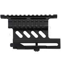Tactical AK Serie Rail Side QD Monte Âmbito Quick Release Weaver Rail Mount Double Side AK Rifle Montagens