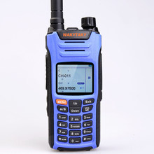 WAKYTAKY UV68D Portable Walkie talkie 10 km 136-520MHz 3800mAh Handheld Two Way Ham Radio Comunicador Amateur With Color Screen(China)