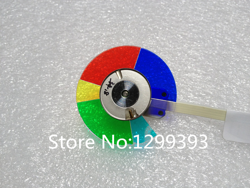 Projector color wheel for Optoma HD66 HD67N projector color wheel for optoma x303 free shipping
