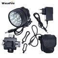 WasaFire 20000lm 15 * T6 светодиодный фонарь для велосипеда светодиодный велосипедный передний фонарь с батареей фара для велосипеда аксессуары для ...