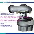 Авто турбо зарядное устройство части турбины 0425 4346KZ 425 4346KZ 0425 4346 425 4346 для Volvo Penda с DEUTZ BF6M 2012C 6070ccm