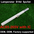 led linestra s14d 85~265V Direct replacement OSRAM Linestra led s14d warm white 5pcs/lot