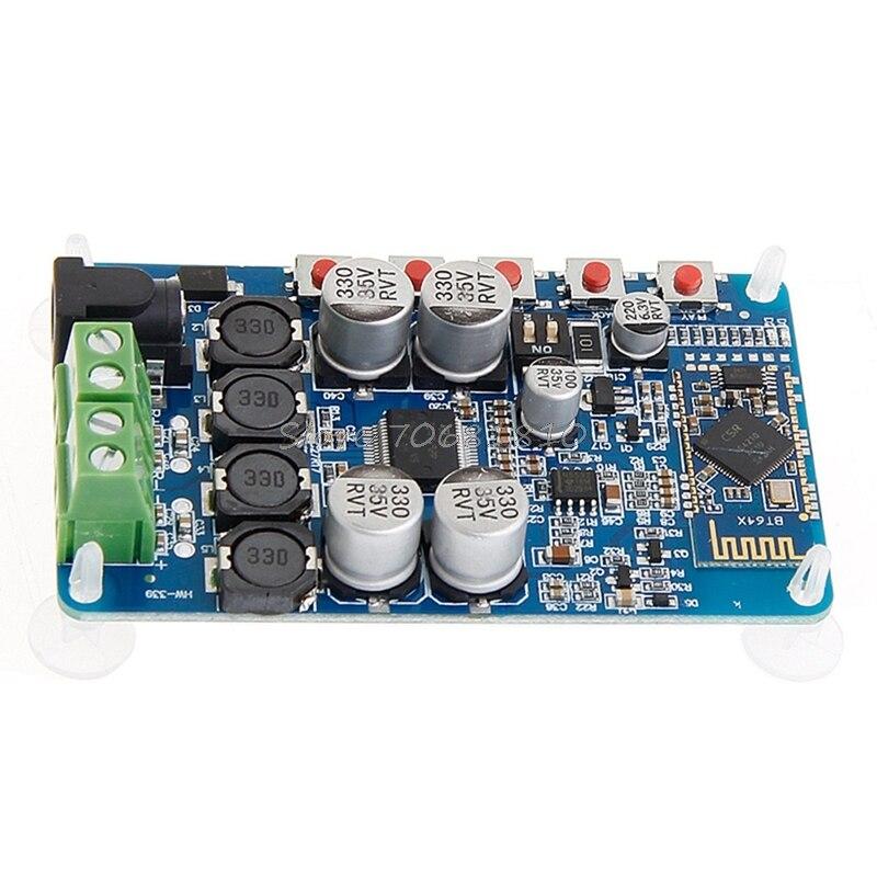 TDA7492P CSR8635 Bluetooth 4.0 Récepteur Audio Amplificateur Numérique Conseil 50 W + 50 W Drop Shipping
