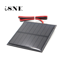 3V 3.5V 4V Solar Panel 100mA 120mA 150mA 250mA 300mA 350mA 435mA 500mA Battery Cell Phone Charger with connect wire