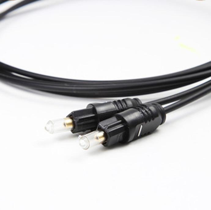 A Ausuky OD 4.0 Toslink 광섬유 디지털 오디오 케이블 PS II / PSIII / HDVD 및 전력 증폭기 용 고품질 1M