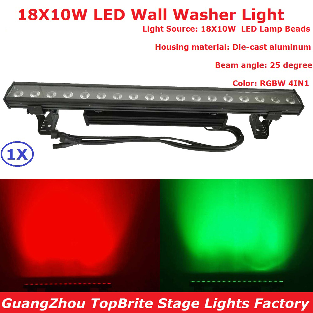 Newest Waterproof Wall Washer Lights IP65 DMX Line Bar Led Wall Wash Stage Light For Dj Disco Party Wedding Outdoor Decoration