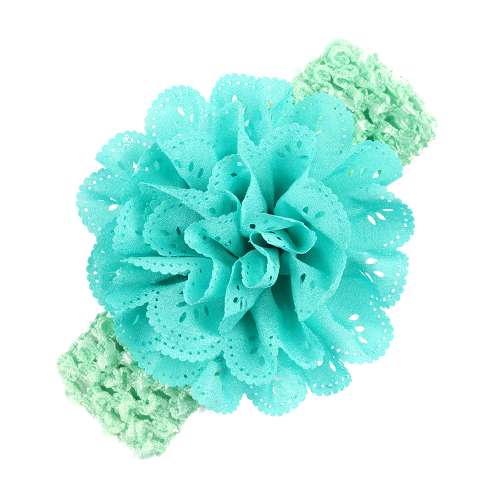 2017 1PC Girls Headwear KIds Headband Flower Hair Bow Newborn Elastic Hair Bands Newborn Hair Accessories halloween party zombie skull skeleton hand bone claw hairpin punk hair clip for women girl hair accessories headwear 1 pcs