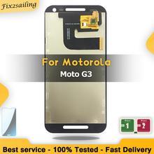100% LCD Display For Motorola MOTO G3 G 3rd Gen XT1544 XT1550 XT1540 XT1541 Lcd Screen Replacement  Digitizer Assembly Tested