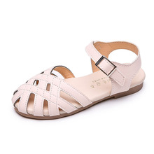 COZULMA Baby Girl Cut-outs Beach Sandals Kids Gladiator Shoes Children Summer Style Hook & Loop Size 21-30