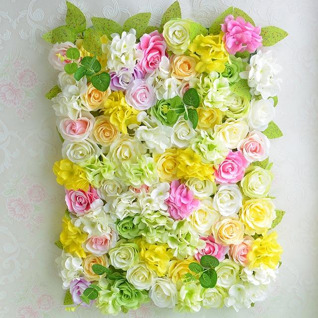 Modern Flower Wall Decoration For Wedding Image - Wall Art Design ...