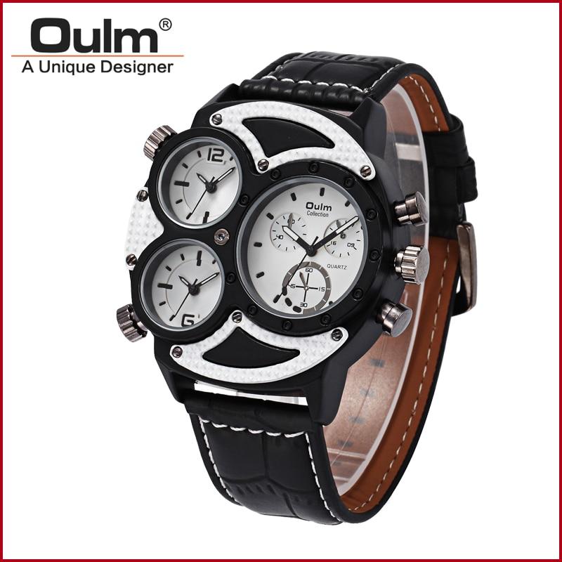 2016 nyt design oulm ur, oulm analog kvarts ur, fabrik pris - Mænds ure - Foto 3