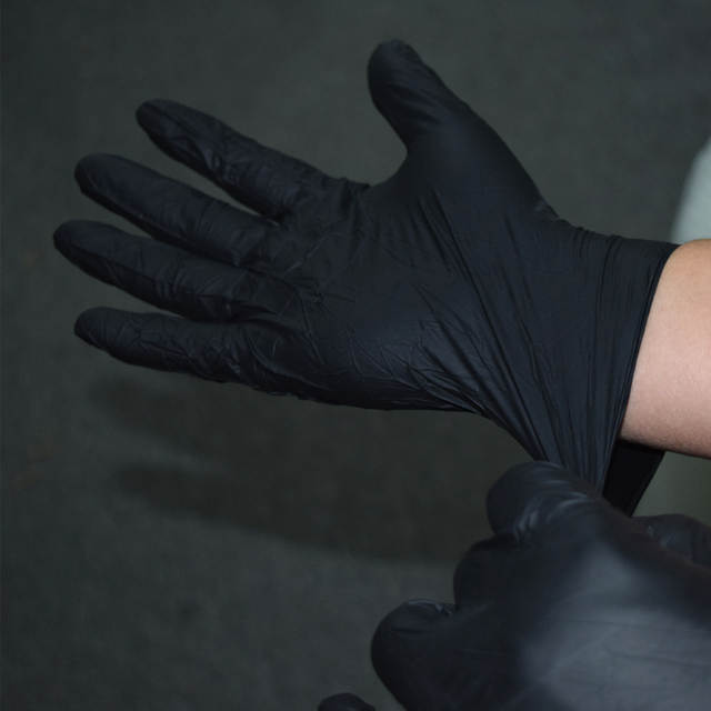 Online Shop Tattoo Gloves 10pcs Tattoo Body Art Black Disposable