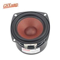 GHXAMP 2PCS Square 3 INCH Car Full Range Speaker Tweeter MID Woofer Home Theater Desktop Bookshelf