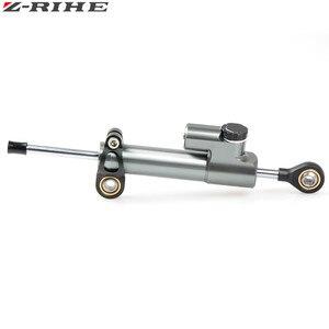 Image 3 - CNC Universal Aluminium Motorrad Dämpfer Lenkung Stabilisieren Sicherheit Control Für Suzuki GSX R GSXR 600 750 1000 K1 K2 K3 K4 k5 K6