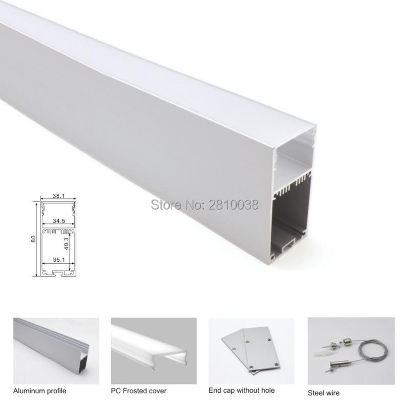 extrusoes de aluminio led conduziu grande u 20x1 04