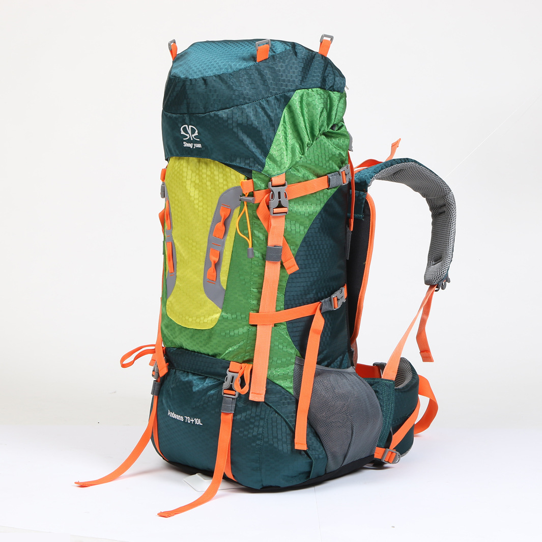 Large Capacity Outdoor Sports Backpack Travel On Foot Casual Double Shoulder Mountaineering Bag A5104 mountec large outdoor backpack travel multi purpose climbing backpacks hiking big capacity rucksacks sports bag 80l 36 20 80cm