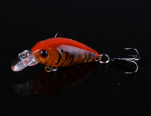 9pcs HENGJIA 4g 4.5cm Mini Crankbait floating Fishing lure Crank Fake Bait isca artificial carp fishing Wobblers