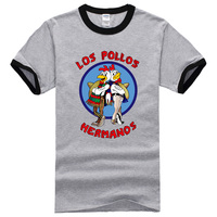 2017 Summer New Fashion T Shirts Men S Breaking Bad Shirt LOS POLLOS Hermanos T Shirt