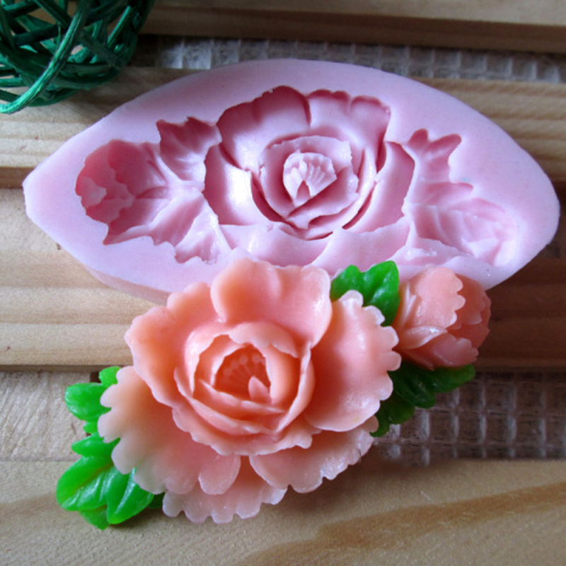 flower leaves Arylic Resin Flower silicone mold,fondant molds,sugar craft tools,chocolate mould ,soap candle molds for cakes
