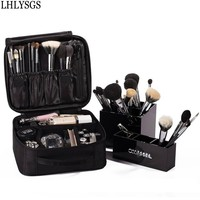LHLYSGS Brand Cosmetic Bag For Women Travel Waterproof Large Capacity Makeup Bag Beauty Necessity Toiletry Pouch