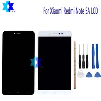 For Xiaomi Redmi Note 5A LCD Display Touch Screen Panel Digital Replacement Parts Assembly Original 5