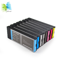 WINNERJET 8colors 220ml Compatible Ink Cartridge With Pigment Ink and One Time Use Chip For Epson 4800 4880 Large Format Printer [kld ink] compatible refillable ink cartridge for stylus pro 4800 large format inkjet printer 8 cartridges with chip