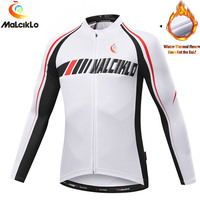 Malciklo Cycling Jersey Ciclismo Ropa Tops Bike Bicycle MTB Clothing Jersey Jacket T Shirt For Man