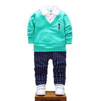 2017 New Spring Baby Boys Clothing Sets Kids Clothes Toddler Boy Cloth Baby Boy Clothes Sport