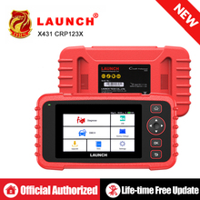 LAUNCH X431 CRP123X OBD2 Scanner Auto Code Reader OBDII Diagnostic Tool ENG AT ABS SRS Launch Scanner Car Automotive Tool crp123