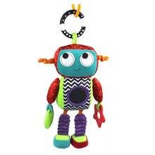 새로운 26cm 플러시 만화 automaton 인형 바람 벨 아기 장난감 나에 매달려 펜던트 어린이 선물 퍼즐 조기 교육